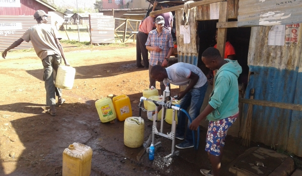 SWAP-TESTING INOVATION AT COMMUNITY WATER KIOSK